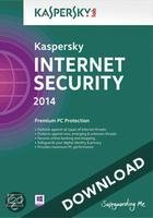 Kaspersky Internet Security 2014 3-pc 1 jaar directe download versie
