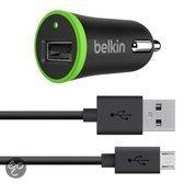 Belkin - Universele autolader met micro USB kabel (10 W/2,1A)