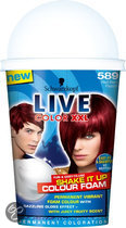 Schwarzkopf Live Color Shake It Up - 589 Red Berry - Haarkleuring