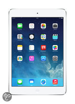 Apple iPad Mini met Retina- display- WiFi + 4G- 16GB Silver
