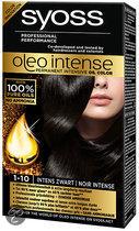 SYOSS Color Oleo Intense 1-10 Intens zwart - Haarkleuring