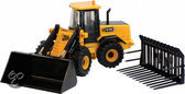 Britains Jcb 416 Farmaster (With Bucket & Silage Fork)