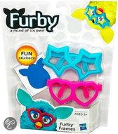 Hasbro Furby accessoires bril blauw + roze