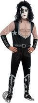 KISS The Starchild - Carnavalskleding - Maat XL - Zwart