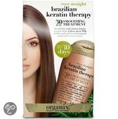 Organix Brazilian Keratin Therapy 30 Day Straight - 385 ml - Haarmasker