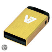 V7 USB NANO STICK 8GB YELLOW USB 2.0