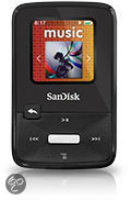 SanDisk Sansa Clip Zip - Mp3-speler - 4 GB - Zwart
