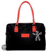 Little Company - Today PopUp Shoulder Bag Square Luiertas - Rood/Zwart