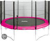 Salta Combo Trampoline - 427 cm - Inclusief Veiligheidsnet - Roze
