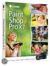 Corel PaintShop Pro X7 (17) - Nederlands/ Frans/ DVD
