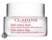 Clarins Multi-Active Day Early Wrinkle Correction Comfort Cream Dry Skin - 50 ml - Dagcrème