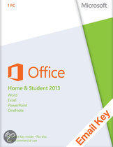 Microsoft Office Microsoft Office Home and Student 2013 - | OEM | Download + Licentie | Installatietaal naar keuze