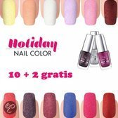 Metoe Nails Golden Rose Holiday 10 + 2 gratis