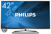 Philips 42PFL6008 - 3D led-tv - 42 inch - Full HD - Smart tv