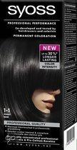 SYOSS Color baseline 1-1 Zwart - Haarkleuring