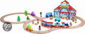 Story Express het stadsleven + rails