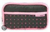 Cosmetic Style Pouche DSi - Zwart/Roze