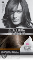 John Frieda Precision Foam Colour 5N - Medium Natural Brown