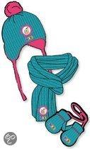 Studio 100 Winterset bumba 3-delig blauw/roze