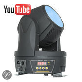 Beamz MHL-115 15-Kanaals Moving Head Zoom Wash 18x 9W DMX