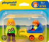 Playmobil 123 Mama met Kinderwagen - 6749