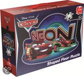 Jumbo Disney Cars Neon - Vloerpuzzel - 15 stukjes