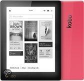 Kobo Aura e-reader - Zwart/Roze - e-reader