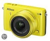 Nikon 1 S2 + 11-27.5 mm - Systeemcamera - Geel