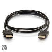 C2G Ultra Flexible High Speed HDMI Cable with Low Profile Connectors - Video / audio / network cable - HDMI - 19 pin HDMI (M) - 19 pin HDMI (M) - 30 cm - black
