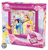 Puzzel Klok - Disney Princess