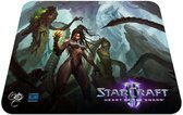 Steelseries QCK Starcraft II: Heart of the Swarm Muismat - Kerrigan Edition PC