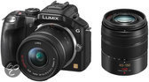 Panasonic Lumix DMC-G5 + 14-42mm + 45-150mm - Systeemcamera - Zwart