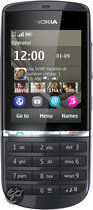Nokia Asha 300 - Zwart - T-Mobile prepaid telefoon