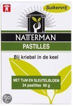 Natterman Tijm & Sleutelbloem - 24 st - Hoestpastilles
