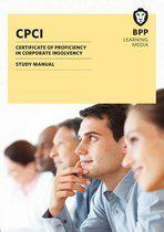 CPCI Certificate of Proficiency in Corporate Insolvency