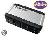 Sandberg hub: USB Hub AluGear (7 ports)