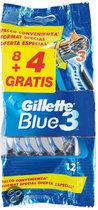 Gillette Blue III Sensitive - 10 stuks - Wegwerpscheermesjes