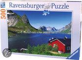 Ravensburger Puzzel - Noors Vissersdorp
