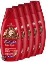 Schwarzkopf Color Shine - 5 x 400 ml Voordeelverpakking - Shampoo