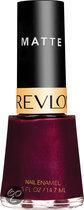 Revlon Nail Enamel - 038 Ruby Ribbon Matte - Rood - Nagellak