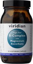 Viridian High Five B-Complex/Magnesium Ascorbate - 90 Capsules