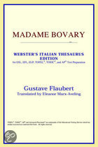 Madame Bovary (Webster's Italian Thesaur