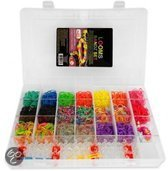 Loom Bands Kit Luxe - Koffer inclusief 3000 Loom bands