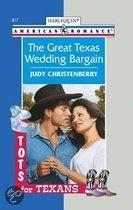 The Great Texas Wedding Bargain (Mills & Boon American Romance)