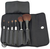 Sibel Make-upkwast Sibel Make-Up Penselen Set Natuurhaar 6 stuks