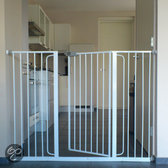 Bettacare Child en Pet Gate 133.2-141.2cm 2 bar + 2 bar + 5 bar