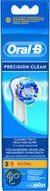 Oral-B Opzetborstel Precision Clean - 3 + 1 Extra