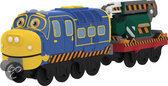 Chuggington Stack Track Brewster Met Grondwerkwagon