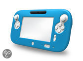 Bigben Siliconen Beschermhoes GamePad Wii U Blauw Grijs of Zwart