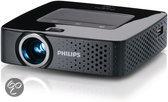 Philips PicoPix 3610 - Mini beamer/projector - WVGA - 100 ANSI-lumen - Zwart
